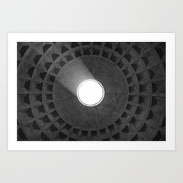 Rome [Perspective Angle N°2] Italy  Art Print