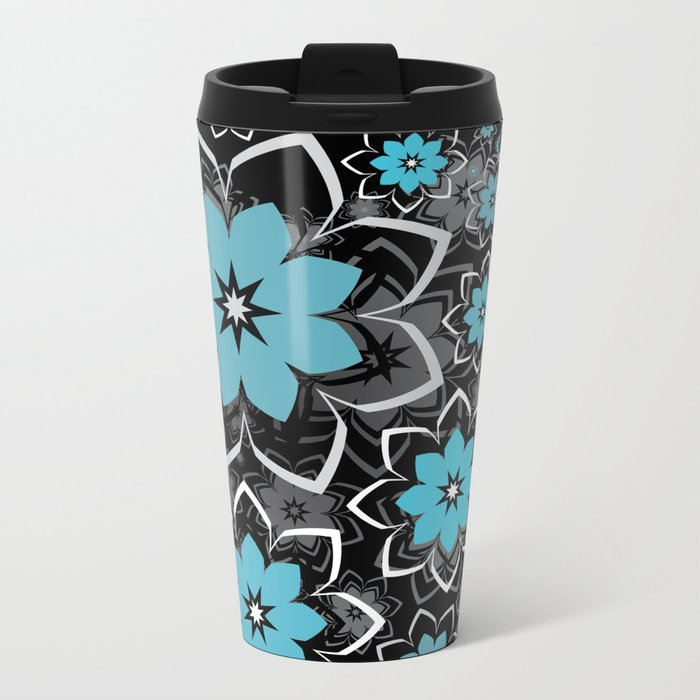 Flowers, Morning Creation..... Metal Travel Mug