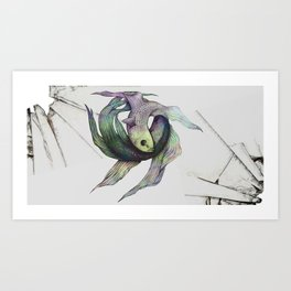 Self Enemy Art Print