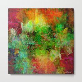 Abstrait 3 Metal Print