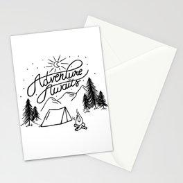 Adventure Awaits! Stationery Cards