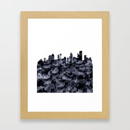 Calgary Framed Art Print