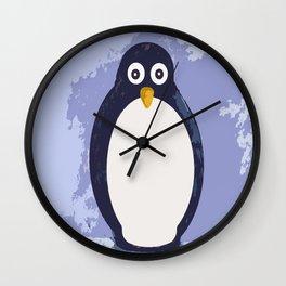 Penguin Village Wall Clock