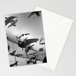 winged flight Stationery Cards