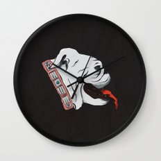 Jellyroll #10: Bull Dog Days Wall Clock
