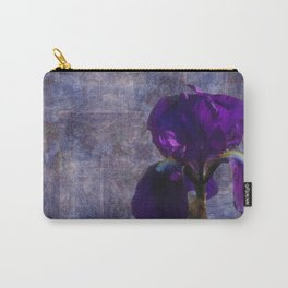 Captivating Iris Carry-All Pouch