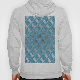 Blue Grill Abstract Hoody