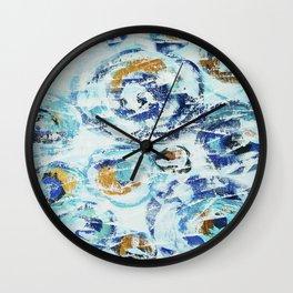 Abstract painting 153 Wall Clock