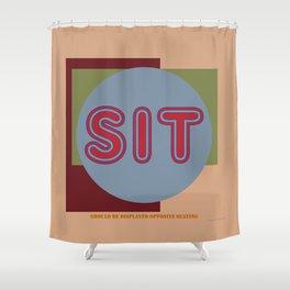 SIT 01. Shower Curtain
