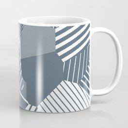 Finite resistance #83 - Voronoi Stripes Coffee Mug