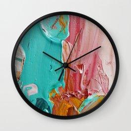 Impasto Wall Clock