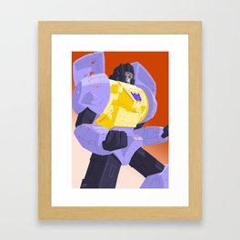 Sledge - Cartoon Dinobot Framed Art Print