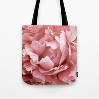 peony Tote Bags featuring Peony by Cindi Ressler Photography