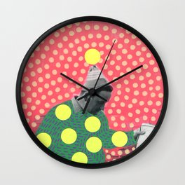 Looking For Answers Wall Clock