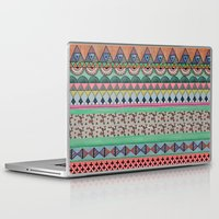 ethnic Laptop & iPad Skins featuring  Ethnic  by moniquilla