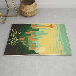 Vintage poster - Seattle Rug