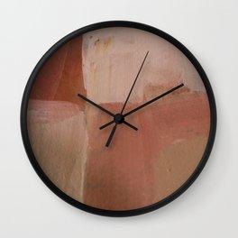 Colourful Chaos XI Wall Clock