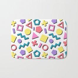 Pastel 90's Pattern Bath Mat