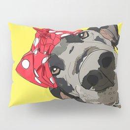 Political Pups - When We All Vote Great Dane Pillow Sham