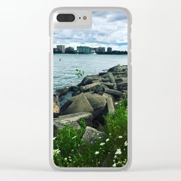 Rocky Shores Clear iPhone Case