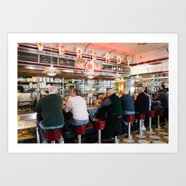 Diner Art Print