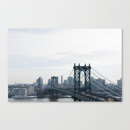 Manhattan Bridge Canvas Print
