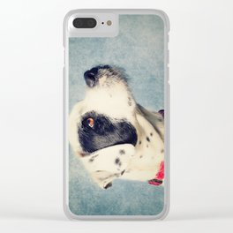 Lovely Dog Clear iPhone Case