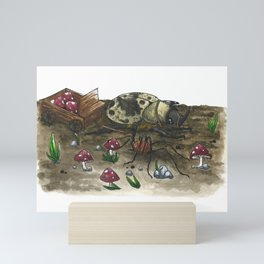 Little Worlds: The Harvest Mini Art Print