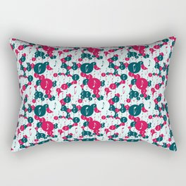 Musical repeating pattern No.5, Collection No.1 Rectangular Pillow