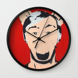 Andy Warhowl Wall Clock