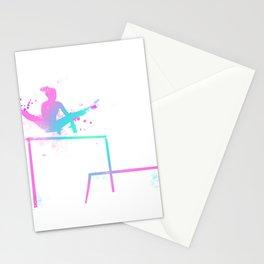 Gymnast - Bars Stationery Cards