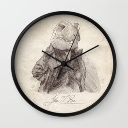 John T. Rex Wall Clock