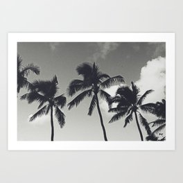 In the Palms of Hawaii Art Print