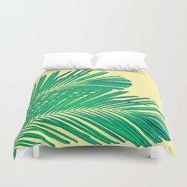 Palm leaf Duvet Cover