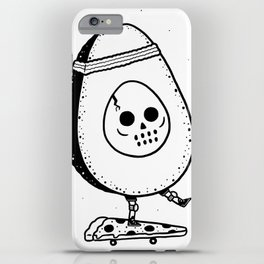 Pizzacado iPhone Case