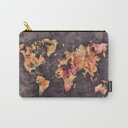 world map 68 Carry-All Pouch