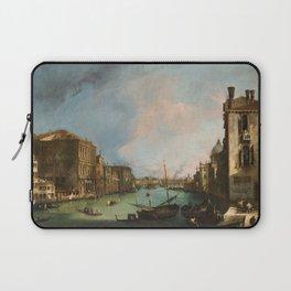 Canaletto Bernardo Bellotto - The Grand Canal In Venice Laptop Sleeve