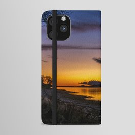 The Blue Hour over Loch Linnhe - Scottish Highlands iPhone Wallet Case