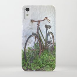 Old time bicycle, Ireland iPhone Case