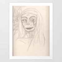 she crys for us Art Print