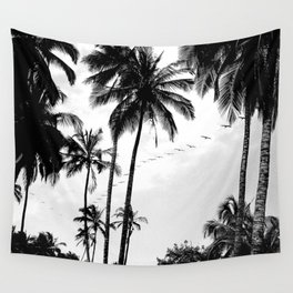 Pelican Paradise Wall Tapestry
