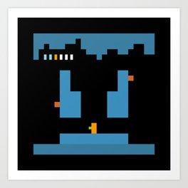 Minimal NES: Metroid Art Print