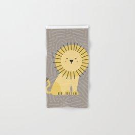 Nicco the lion Hand & Bath Towel