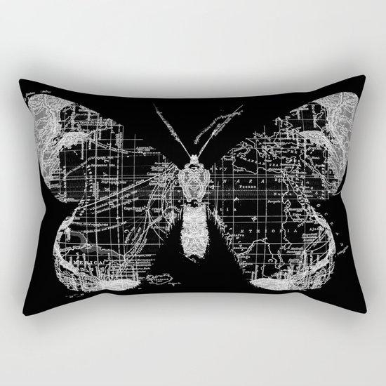 Butterfly Wanderlust Rectangular Pillow