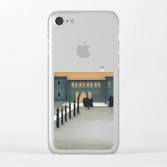 Secret Castle Clear iPhone Case