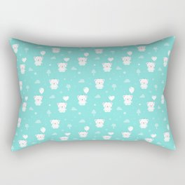Baby Teddy Bear Rectangular Pillow