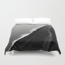 BLACK SAND BEACH Duvet Cover