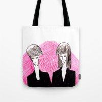 vampire Tote Bags featuring Vampire by Luana Rios