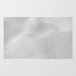Fresh Snow // Snowy Powder Winter Landscape Photo Snowboarder Vibes Ski Season Poster Rug