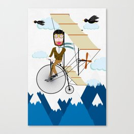 Flying Adventure Canvas Print
